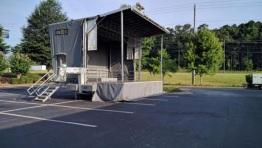 Stageline SL100 Mobile Stage rentals