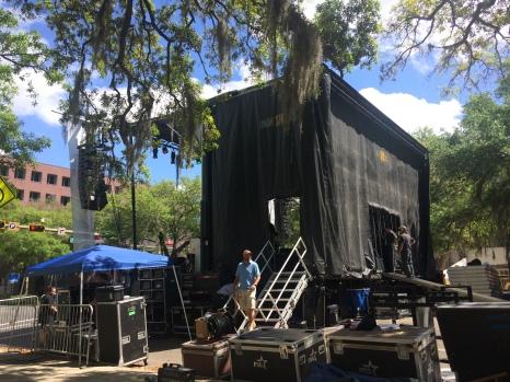mobile stage SL250 MSR mobile stage rental